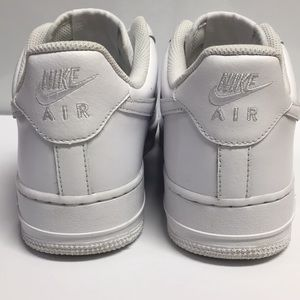 Nike Shoes - Nike Air Force 1 All White size (Men 8.5/Women10)